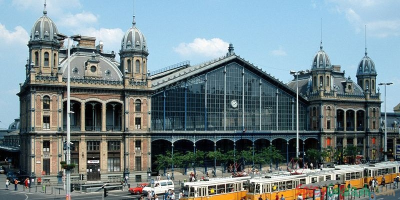Budapest Nyugati Railway Terminal