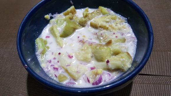 Salad Ginataang Talong