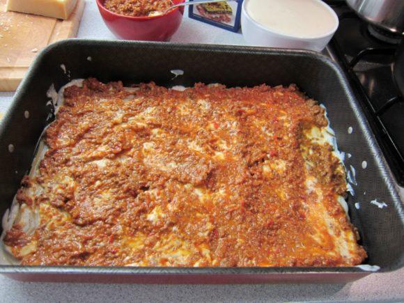 Authentic lasagna bolognese recipe 4