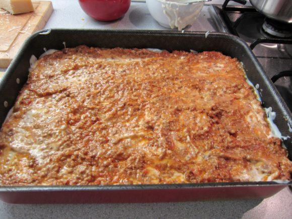 Authentic lasagna bolognese recipe 6