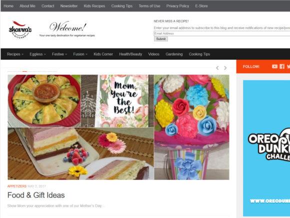 bhavnaskitchen.com screenshot