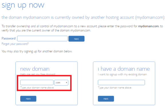 Bluehost Check Domain