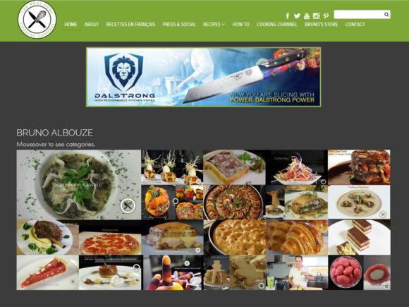 brunoskitchen.net cooking blog screenshot