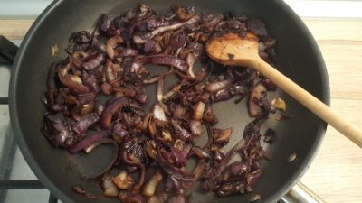 Caramelized red onions recipe 3