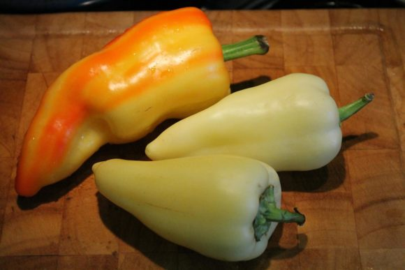Hungarian green peppers