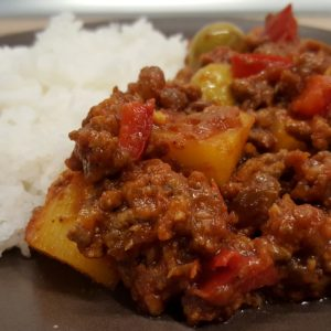 Spicy goulash delicious recipes with pictures and clear instructions cuban picadillo forumfinder Image collections