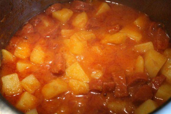 potato paprikash
