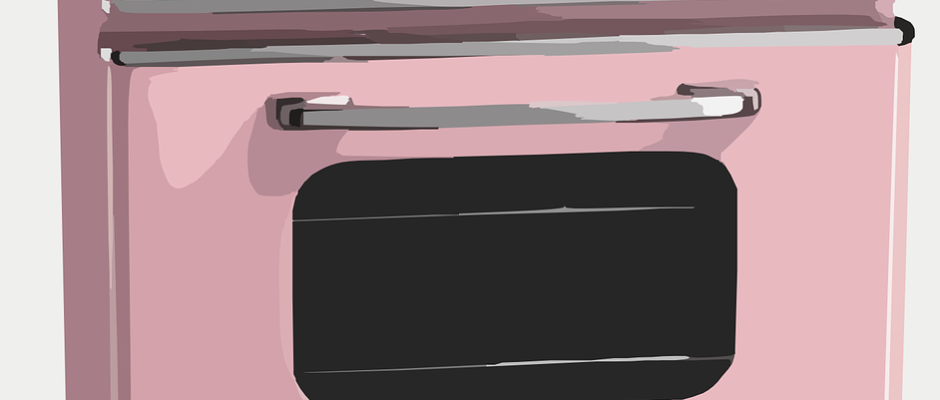 Retro Style Gas Oven Stove
